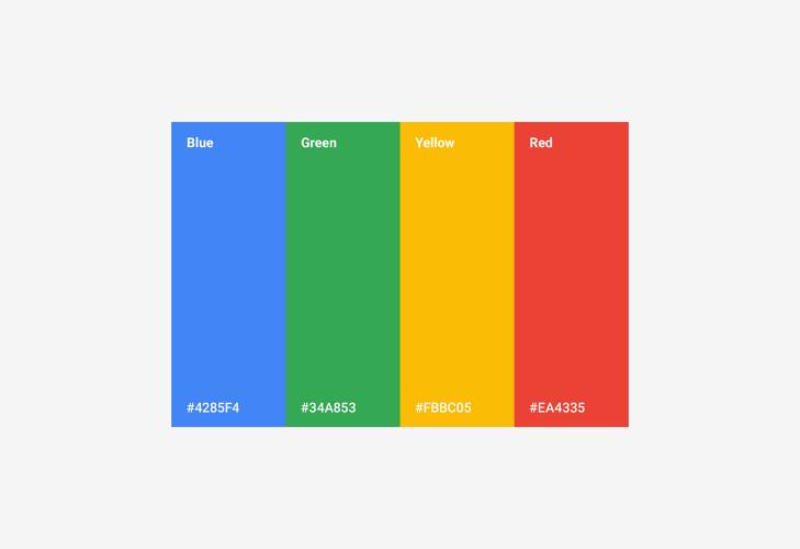 google-renkleri